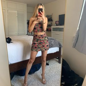 Two Piece Set - Skirt and Top